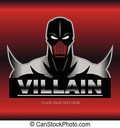 Great Red Metallic Villain.