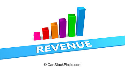 Great Revenue Concept with Good Chart Showing Progress