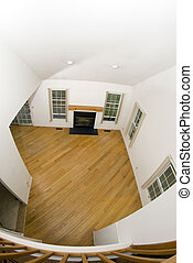 great room in condo empty