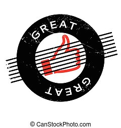 Great rubber stamp