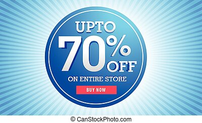 great sale discount banner for marketing