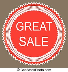Great sale icon,