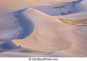 Great Sand Dunes National Park at dawn