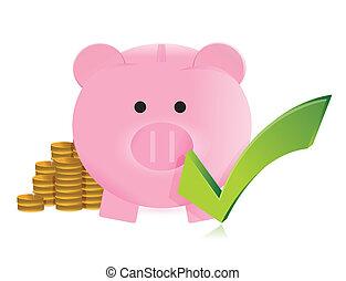 great savings concept