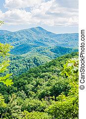 Great Smoky Mountains National Park near Gatlinburg, Tennessee.