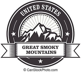 Great Smoky Mountains stamp
