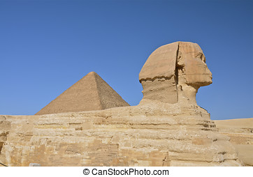 Great Sphinx of Giza, Egypt.