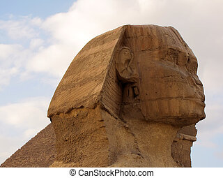 great sphinx - great sphinx, giza, egypt...