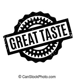 Great Taste rubber stamp