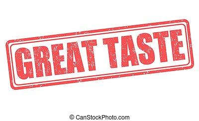 Great taste stamp