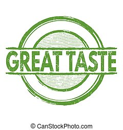 Great taste stamp