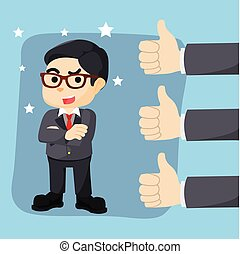 Great thumb up appreciation for