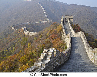Great wall - Great China wall near Beijing
