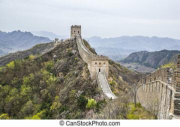 Great Wall, Jinshanling section - Ancient Great Wall at...