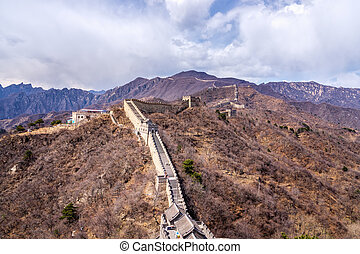 Great Wall of China, Mutianyu section near Beijing
