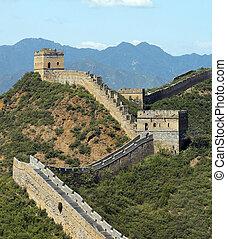 Great Wall of China - The Great Wall of China at Jinshanling...