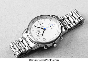 Great watch. - Beautiful Man watch with white background....