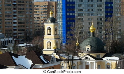Grebnevskaya church, Odintsovo, Moscow region, Russia....