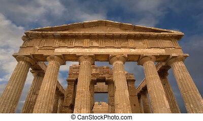 grec, ancien, concordia, temple