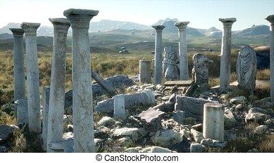 grec, ancien, italie, temple
