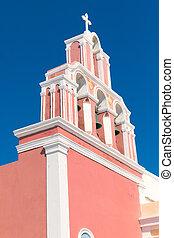 Grec,  belltower, typique