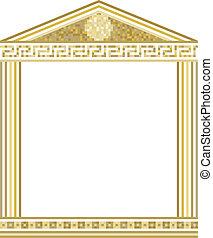 Grec, colonnes