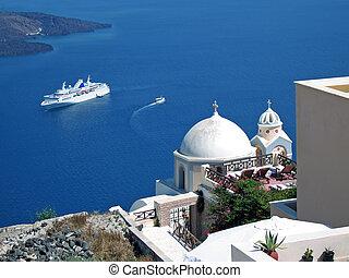 grec, croisière, îles