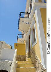 grec, maison