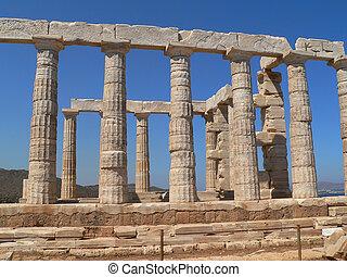 grec, ruines