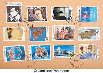 grec, timbres