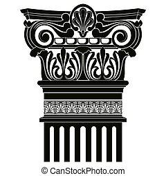 Grec, vecteur, Ornement