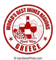 grecia, finest, vino