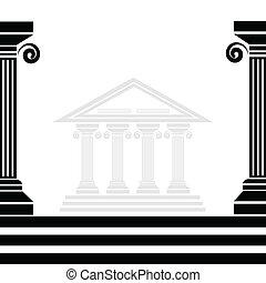 greco, colonne
