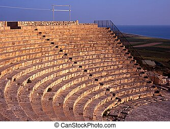 Greco-Roman Theatre, Kourion Cyprus - The Greco-Roman ...