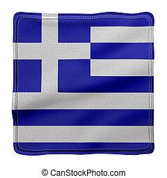 Greece 3d flag