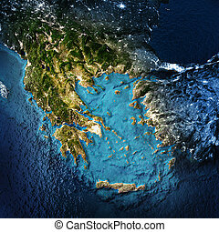 Greece and west Turkey. Elements of this image furnished by...