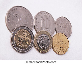 Greece coins