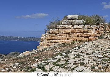 Greece, Crete, Ancient Aptera