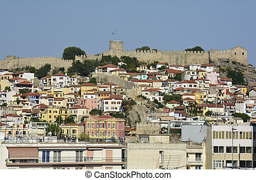Greece, Eastmacedonia, Kavala - Kavala, Greece, cityscape...