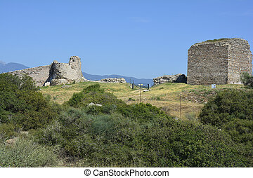 Greece, Eastmacedonia, Kavala - Greece, Kavala, bycantine...