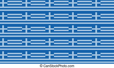 Greece flag on infinite zoom