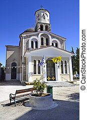 Greece, Kavala, church of Theotokou