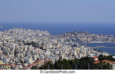 Greece, Kavala - Greece, cityscape of Kavala,