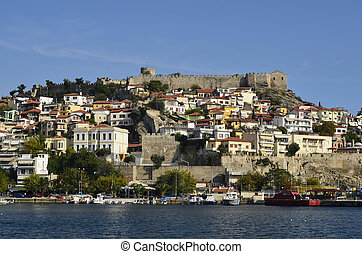 Greece, Kavala, castle