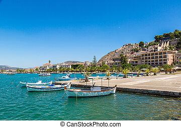 Greece, Nafplion in a beautiful summer day