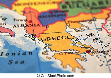 Greece On Map