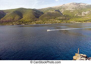 greece sea coast