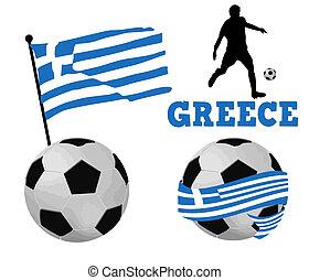 Greece soccer balls