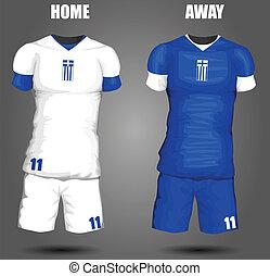 Greece soccer jersey