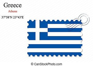 greece stamp design